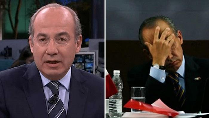 Felipe Calderón responsabiliza a AMLO si algo le pasa por quitarle escoltas